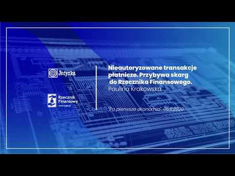 Nieautoryzowane transakcje płatnicze – PR1 Polskiego Radia – Paulina Krakowska