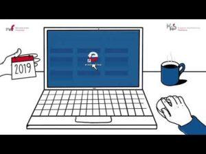Aplikacja e-mikrofirma i formularz uproszczony (audiodeskrypcja)