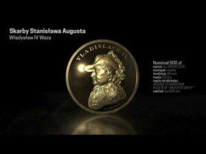 """N, AD – Władysław IV na monetach z serii """"Skarby Stanisława Augusta"""""""