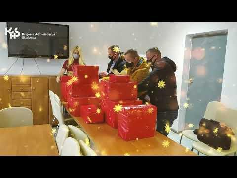 Szlachetna Paczka od pracowników I US w Kielcach (audiodeskrypcja)
