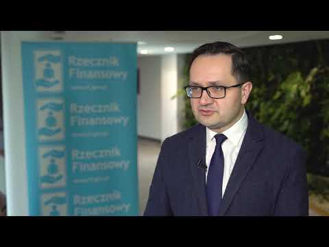 Podsumowanie działań Rzecznika Finansowego w 2020 roku – dr hab. Mariusz Golecki, Rzecznik Finansowy