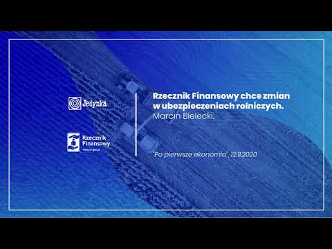 Ubezpieczenia rolnicze – PR1 Polskiego Radia – Marcin Bielecki