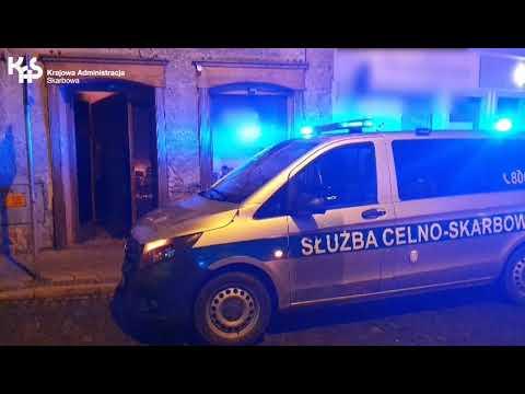 Opolska KAS kontroluje nielegalną działalność hazardową (audiodeskrypcja)