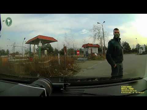 Nietrzeźwy kierowca chciał uciec pieszo