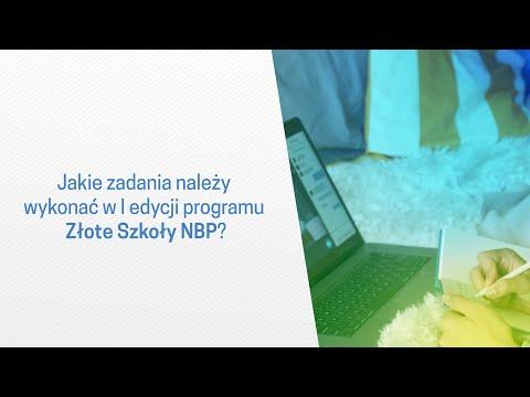 Złote Szkoły NBP – jakie zadania należy wykonać w I edycji programu?