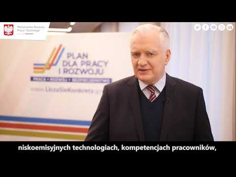 Jarosław Gowin o Nowej Polityce Przemysłowej Polski