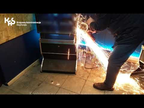 Kolejne automaty w rękach KAS (audiodeskrypcja)