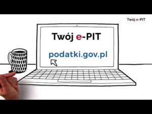 Twój e-PIT za 2020 r. czeka na Ciebie w e-Urzędzie Skarbowym na podatki.gov.pl (audiodeskrypcja)