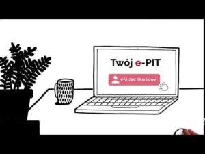 Twój e-PIT czeka na Ciebie. Odwiedź e-Urząd Skarbowy na podatki.gov.pl