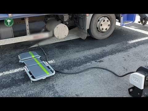 Sprawdzali poziom emisji spalin ciężarówek