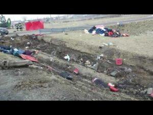 ITD na miejscu wypadku autokaru na A4