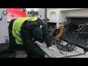 Estońskie ciężarówki z niedozwolonymi urządzeniami