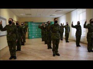 Nowi funkcjonariusze w szeregach podlaskiej Straży Granicznej