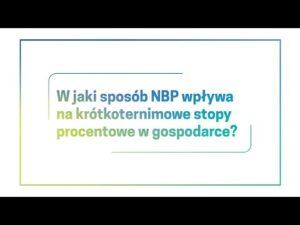 W jaki sposób NBP wpływa na krótkoterminowe stopy procentowe w gospodarce?