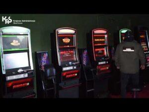 Nielegalne automaty w Pasłęku (audiodeskrypcja)