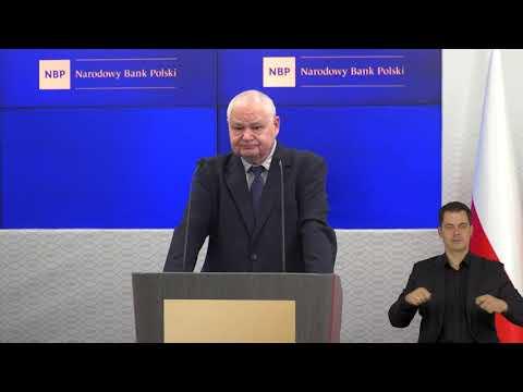 AD, N, PJM – Wystąpienie prof. Adama Glapińskiego, Prezesa NBP, podczas Forum Bankowego 2021