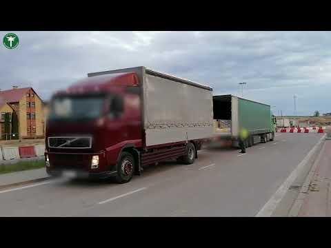 Za ciężki transport międzynarodowy