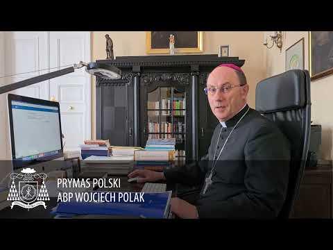 Prymas Polski abp Wojciech Polak zachęca do udziału w Spisie Powszechnym