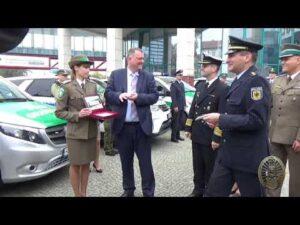 Projekt ISF przekazanie nowych pojazdów