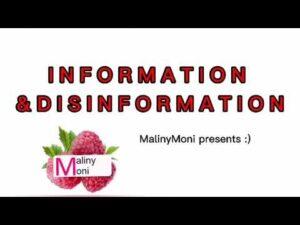 Informacja i dezinformacja – Zespół MALINYMONI – EKS 4.edycja