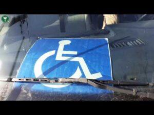 Nieprawidłowy przewóz osób niepełnosprawnych