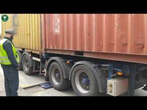 Za ciężki transport soków i bloczków