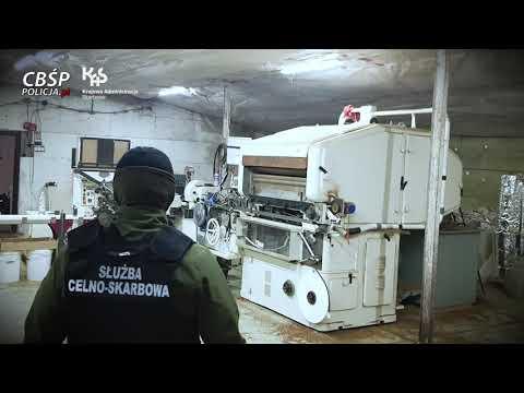 Służby rozbiły grupę przestępczą i zamknęły nielegalną fabrykę papierosów