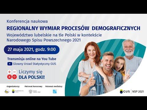 Regionalny wymiar procesów demograficznych.Województwo lubelskie na tle Polski w kontekście NSP 2021