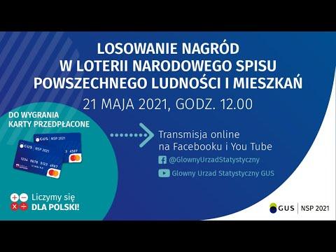 Losowanie nagród w Loterii NSP 2021 – 21 maja 2021, godz.12.00 (II etap)