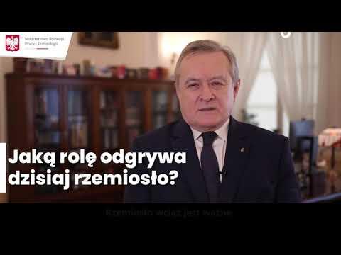 Wicepremier Piotr Gliński o rzemiośle