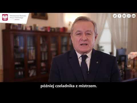 Wicepremier Piotr Gliński o kształceniu dualnym