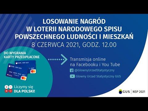 Losowanie nagród w Loterii NSP 2021 – 8 czerwca 2021, godz.12.00 (III etap)
