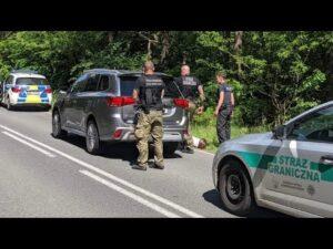 Read more about the article Świecko. Zatrzymany kradziony pojazd