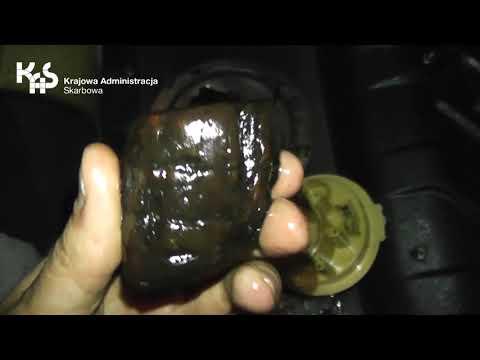 Bursztynowy przemyt w paliwie