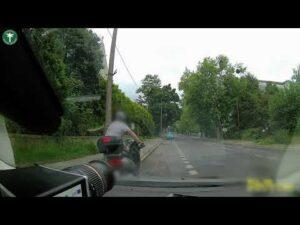 Read more about the article Nietrzeźwy kierowca skutera