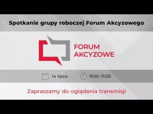Read more about the article Spotkanie grupy roboczej Forum Akcyzowego