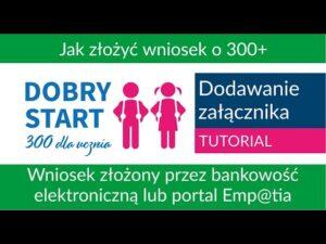 Read more about the article Jak dodać załącznik przez bank lub portal Emp@tia [Dobry Start]