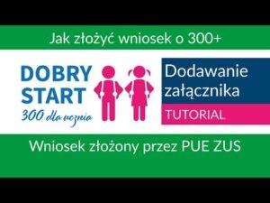 Read more about the article Jak dodać załącznik przez PUE ZUS [Dobry Start]