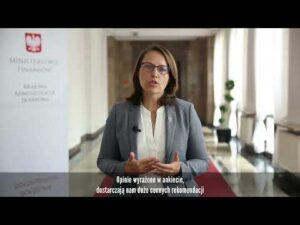 Read more about the article Szef KAS Magdalena Rzeczkowska o badaniu satysfakcji klientów Urzędów Skarbowych