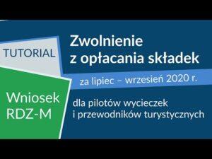 Read more about the article Zwolnienie ze składek dla przewodników i pilotów [Tarcza antykryzysowa]