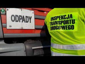 "Read more about the article Transporty odpadów ""pod lupą"" ITD. Ogólnopolska akcja ""Nielegalne Odpady 2021"""