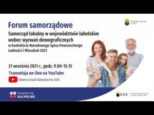 Read more about the article Samorząd lokalny wobec przemian w woj. lubelskim w kontekście Spisu Powszechnego 2021.