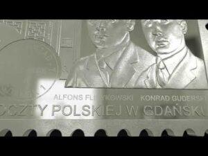 """Read more about the article Monety NBP: """"Obrona Poczty Polskiej w Gdańsku. Agresja Niemiec na Polskę"""""""