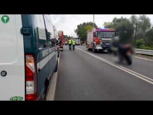 Read more about the article Groźny wypadek z udziałem autobusu