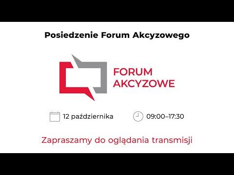 Read more about the article Posiedzenie Forum Akcyzowego