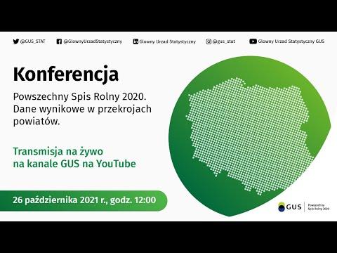 Read more about the article Powszechny Spis Rolny 2020. Dane wynikowe w przekrojach powiatów- konferencja